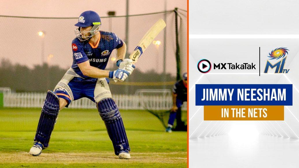 Neesham's elegant batting   नीशम की शानदार बल्लेबाजी   IPL2021