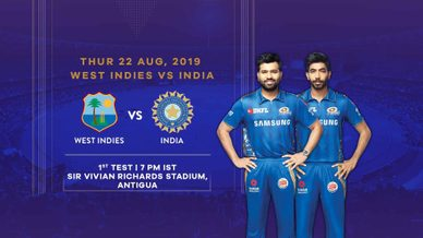 India to begin their Test Championship journey in Antigua
