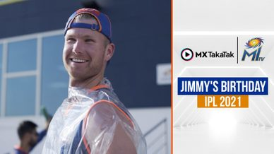Jimmy's Birthday | IPL 2021