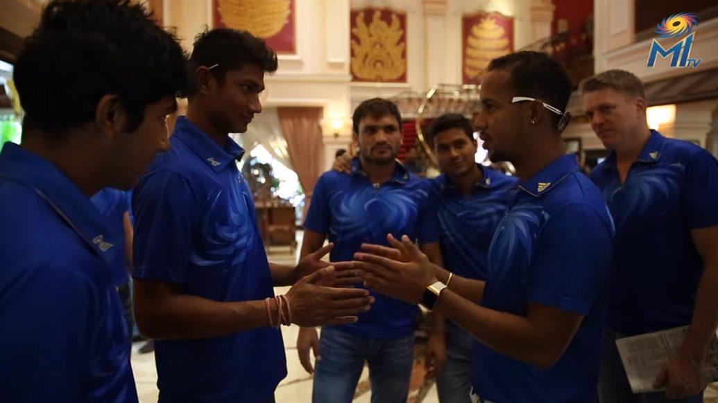 Lendl Simmons pranks Apoorv Wankhade | Mumbai Indians
