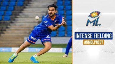 Anmolpreet Singh's diving catch | अनमोलप्रीत सिंह का डाइविंग कैच | IPL 2021