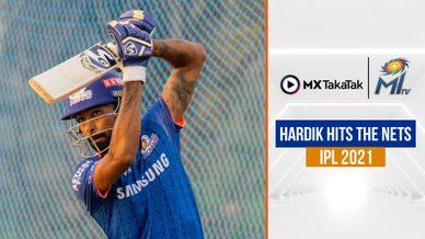 Hardik Pandya's net session | हार्दिक का नेट सेशन | IPL 2021