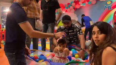 Baby Samaira turns 1 | Mumbai Indians