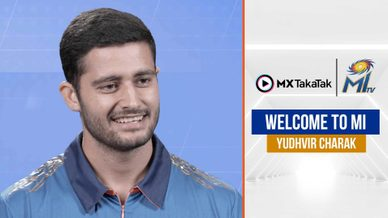 MI Catch-up with Yudhvir Charak | युधवीर से बातचीत | IPL 2021