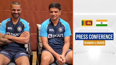 Shikhar Dhawan and Rahul Dravid ahead of the SL tour | धवन और द्रविड़ के विचार