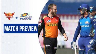 MI face SRH in last league game   हैदराबाद बनाम मुंबई   Dream11 IPL 2020
