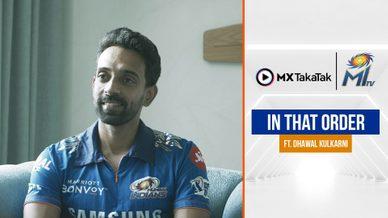 In That Order FT. Dhawal Kulkarni | IPL 2021
