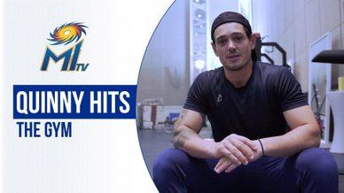 Quinton de Kock on his gym routine   क्विंटन के जिम पर विचार   Dream11 IPL 2020