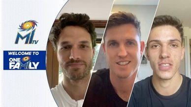 एमआई से जुड़ने पर बोले मार्को, एनसीएन और मिल्ने | हमारे नए खिलाड़ी | आईपीएल नीलामी 2021