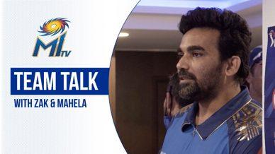Team talks with Zak and Mahela | टीम के बीच बातें ज़हीर और महेला के साथ | Mumbai Indians