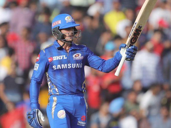 Quinton de Kock finds his bearings in MI colours - Mumbai Indians