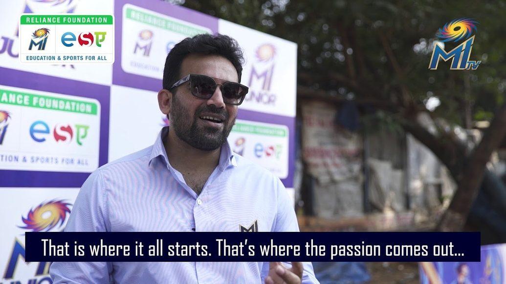 Zaheer Khan returns to the National Cricket Club   MI Junior 2020   Mumbai Indians
