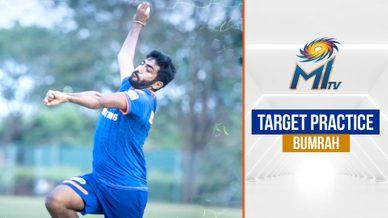 Jasprit Bumrah's target practice | बुमराह की ट्रेनिंग | IPL 2021