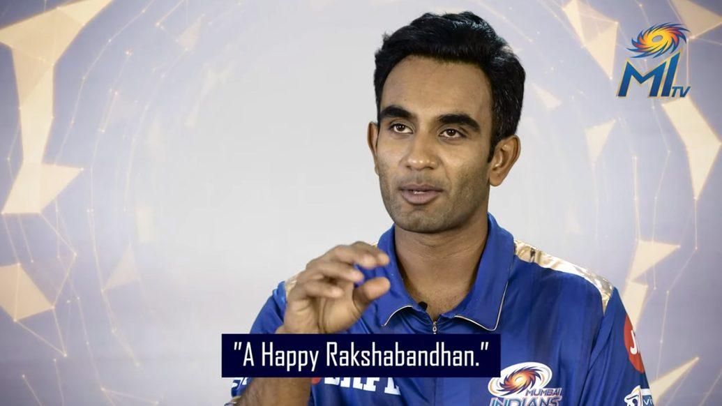 Happy Rakshabandhan from Mumbai Indians