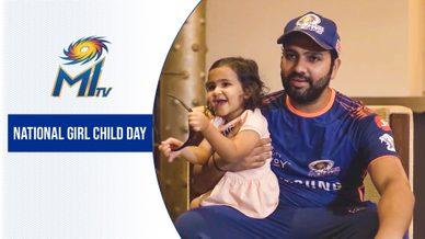 National Girl Child Day | राष्ट्रीय बालिका दिवस | Mumbai Indians