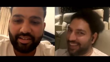 Rohit Sharma and Yuvraj Singh on Instagram LIVE | Mumbai Indians