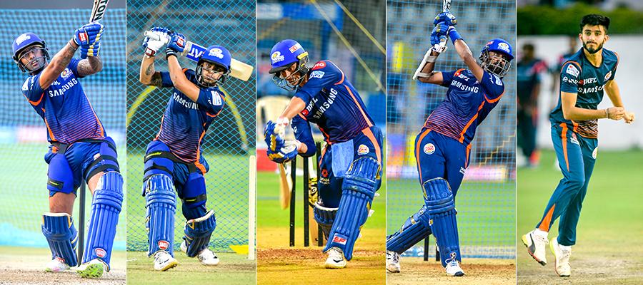 5 MI stars in Quadrangular series - Mumbai Indians