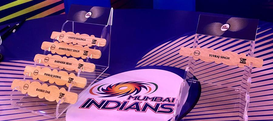 Malinga, Yuvraj and four new members added to the MI squad - Mumbai Indians